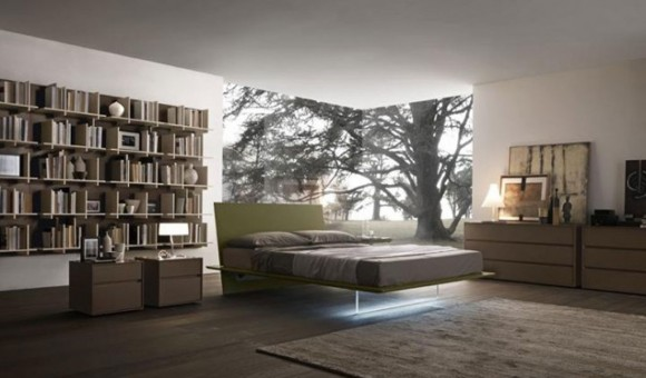 bedroom library design modifications