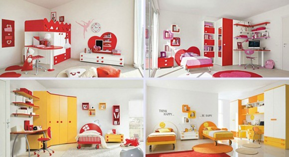 colorful kids bedroom designs