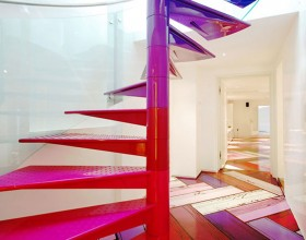 colorful penthouse interior ideas