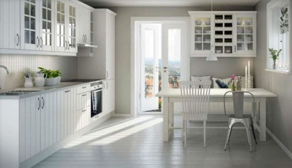colorless kitchen interior inspirations