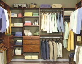 contemporary home wardrobe system