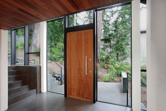 distinguish wooden door system