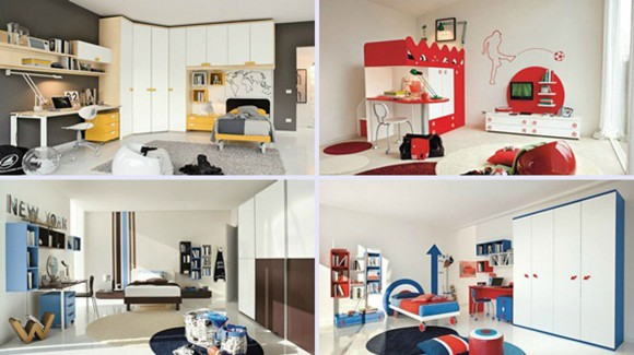 dynamic kids room furnishing ideas