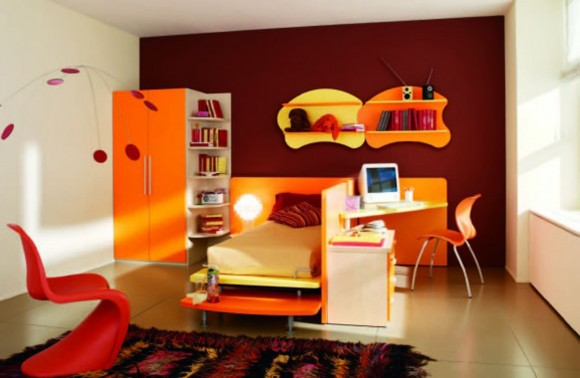 expressive teenager bedroom landscaping