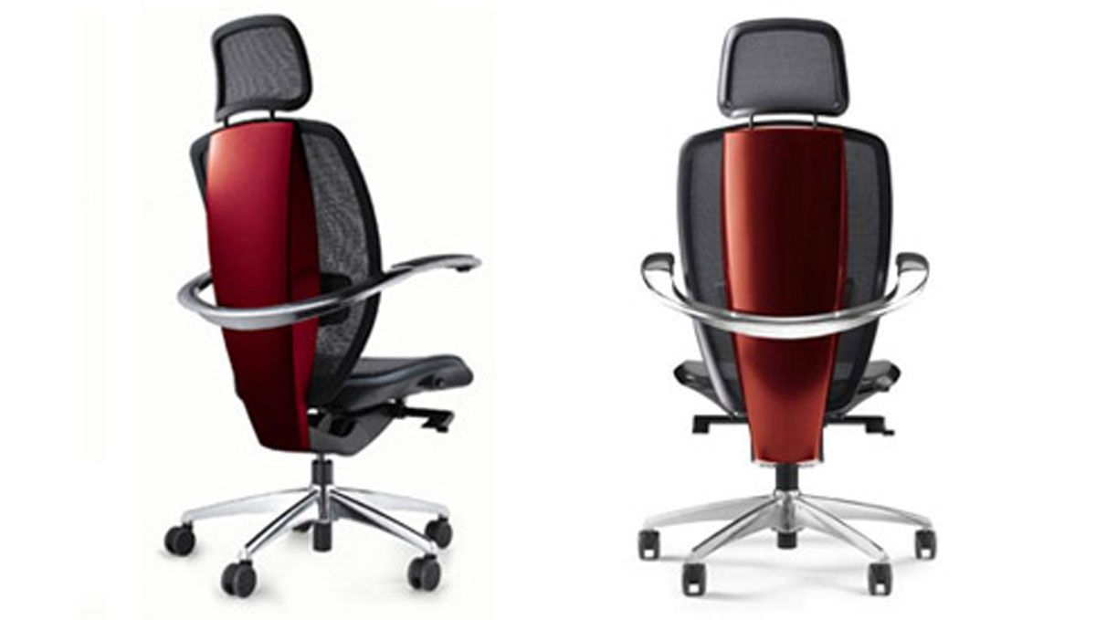 futuristic office chair layouts