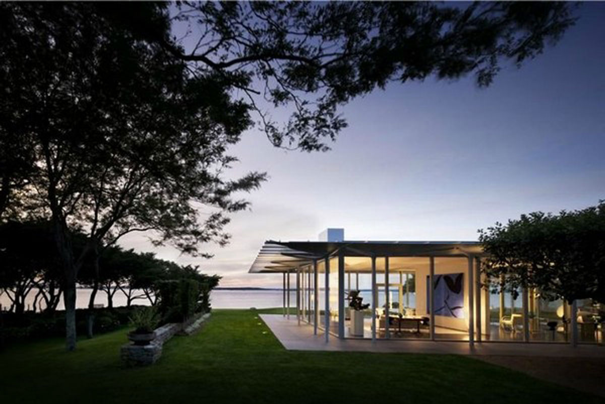 Minimalist lakeside house designs for Lakeside home designs