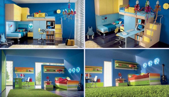 nice kids bedroom inspirations
