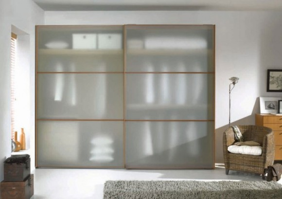 semi transparent wardrobe system