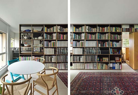 space saving apartment constructions