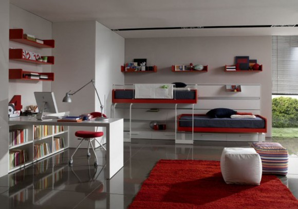 trendy teen bedroom designs