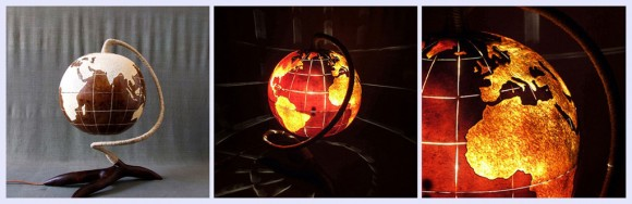 unique globe lamp designs
