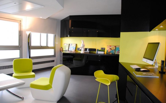 colorful apartment interior plans
