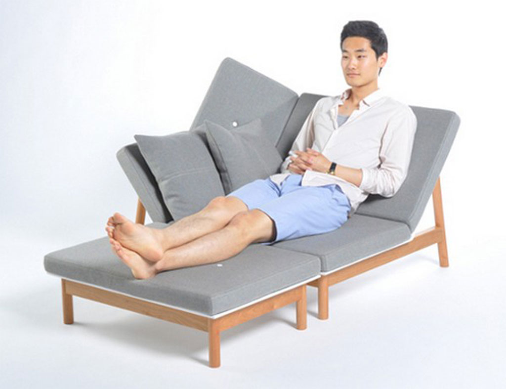Comfortable sun lounger plans layouts Chaise design confortable