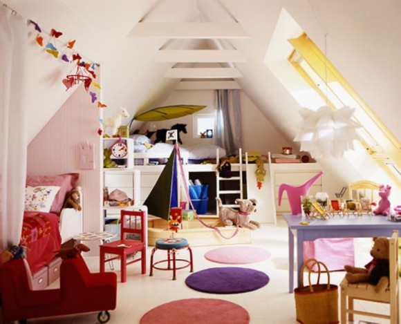 inspiring kids loft bedroom