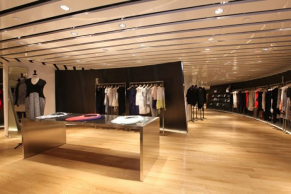 luxury fashion store designs