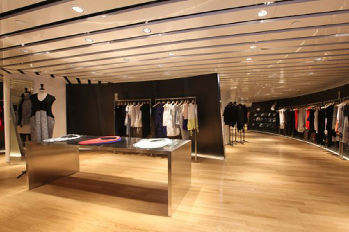 Luxury fashion store designs for Shop interior design