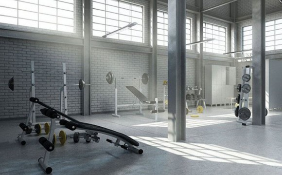 modern home gym designs
