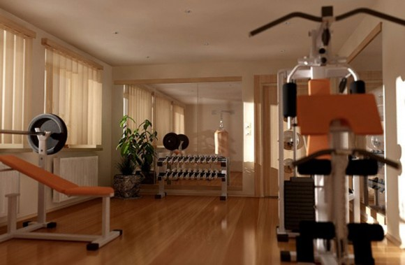 space saving gym space inspirations