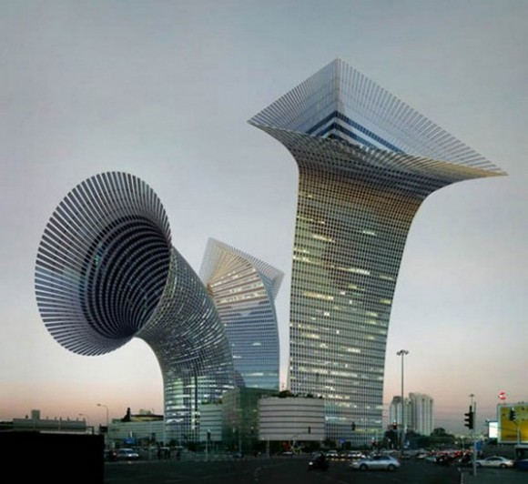 ultra modern building constructions