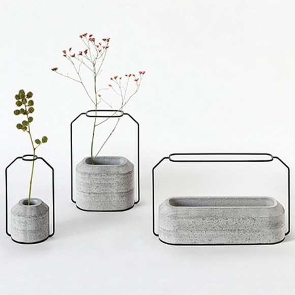 unique concrete vases designs