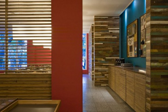 contemporary wooden interior inspirations