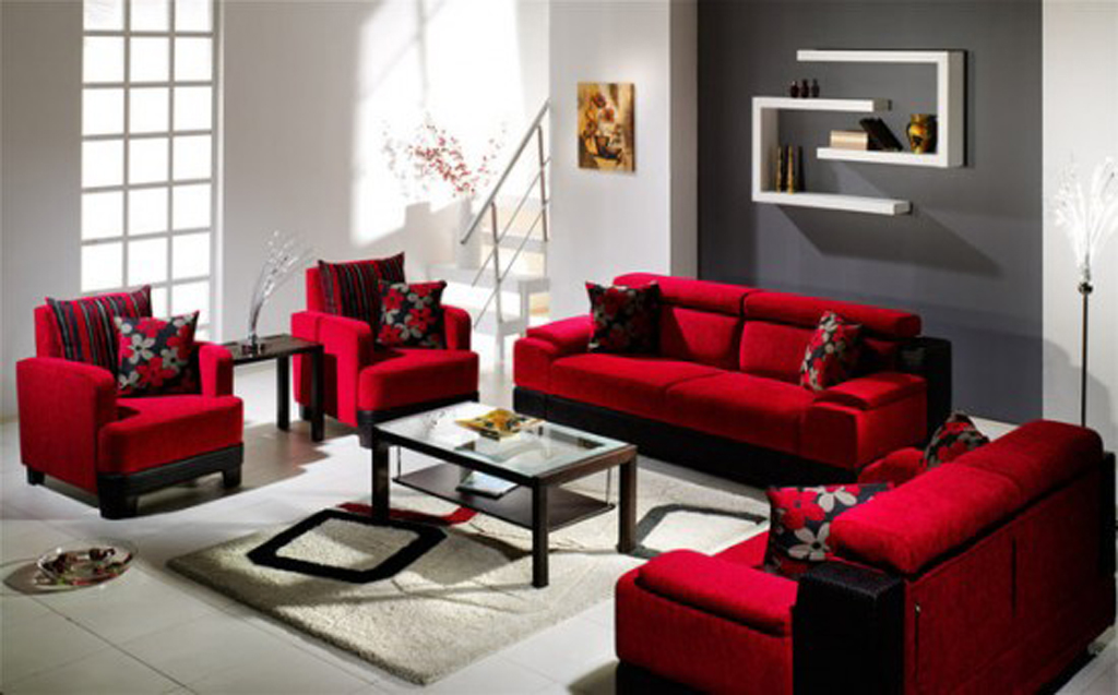 Cozy living room furniture ideas for Apartment living room furniture ideas