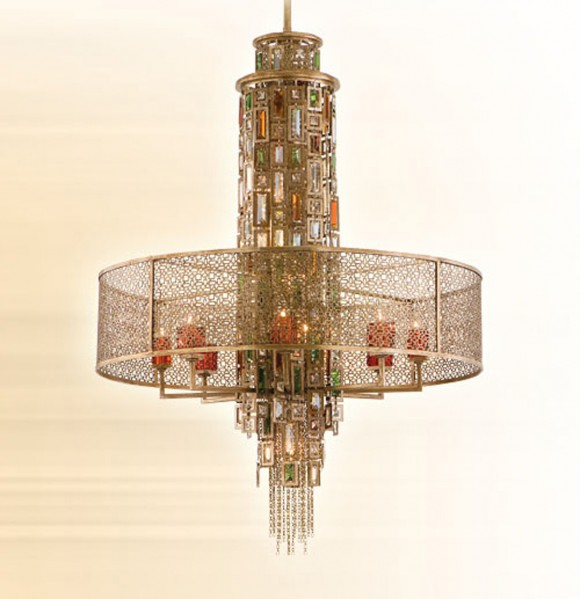 lavish french inspiration chandelier
