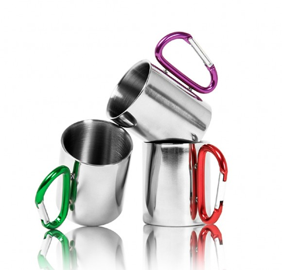 practical stainless steel mug