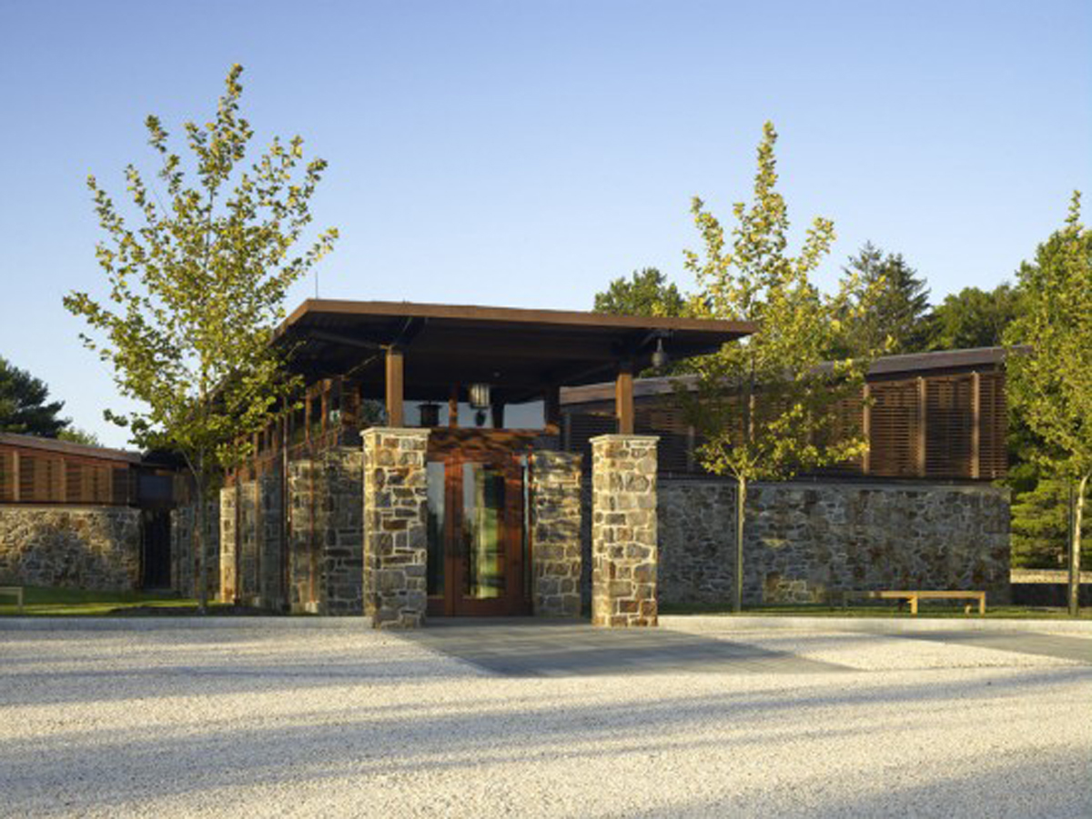 sustainable stone home designs