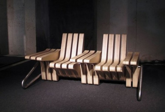trendy multifunctional coffee bench designs