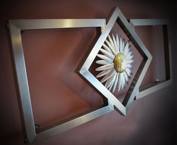 uniquely flower radiator designs