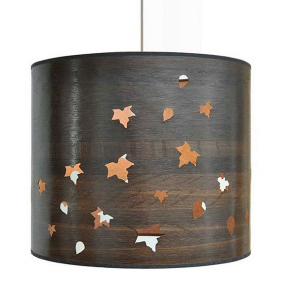 applicative wooden lamp shade