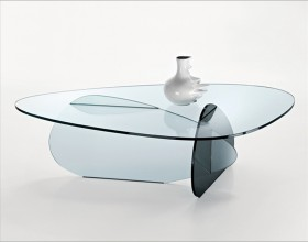 attractive design glass desk