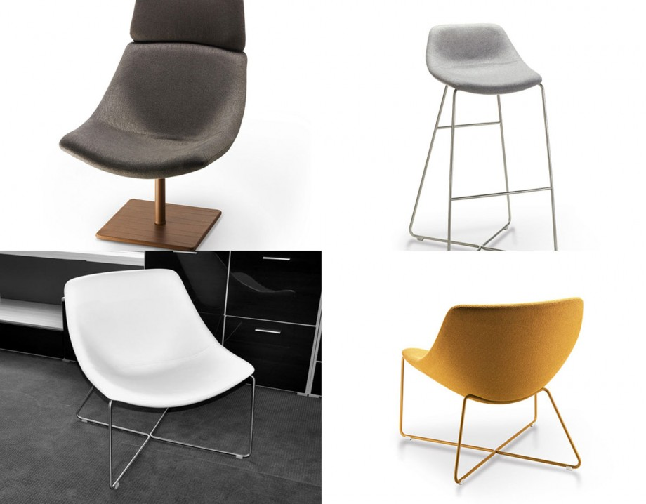 attractive slim chair layouts