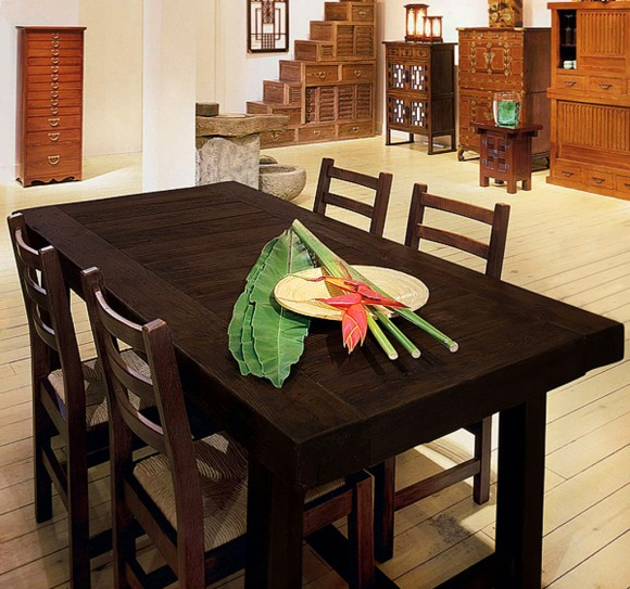 contemporary dining room furniture set