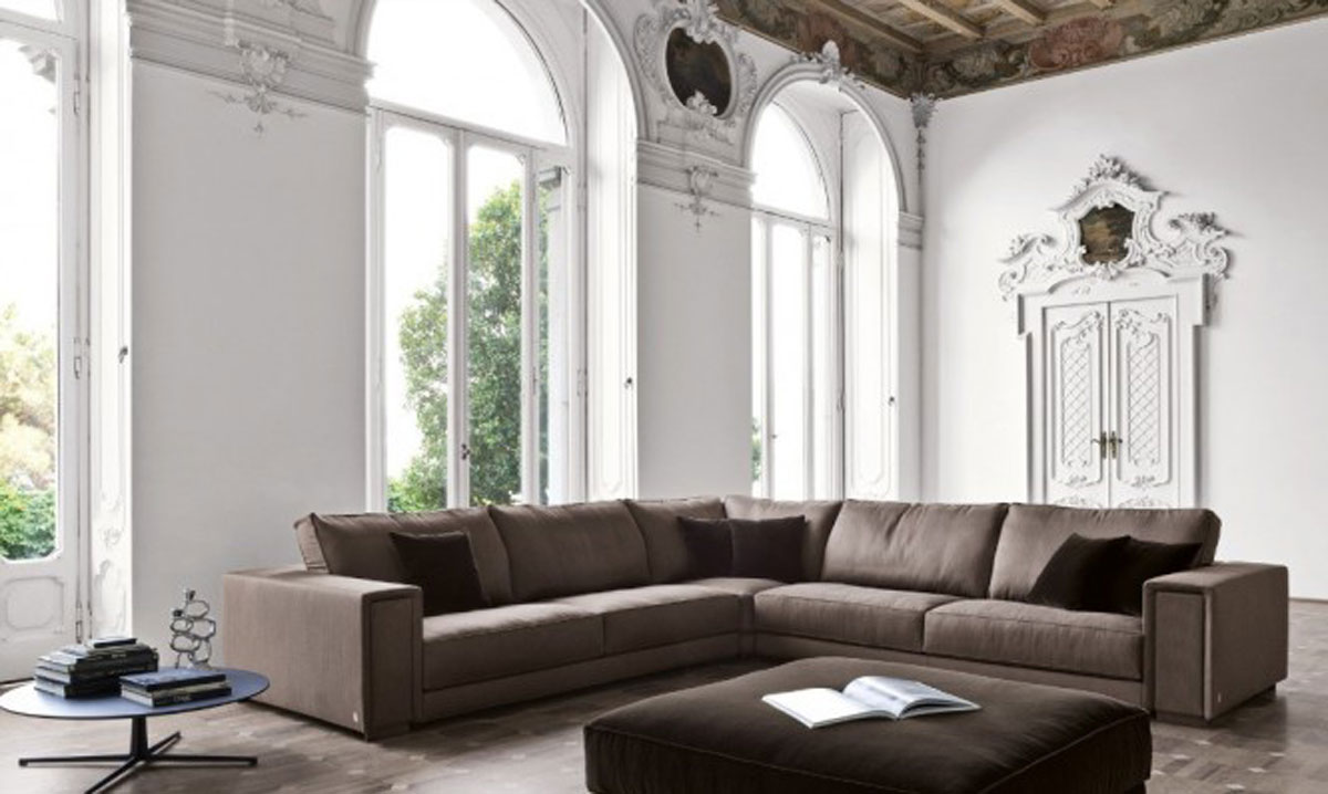 Remarkable White and Brown Living Room Design 1200 x 718 · 110 kB · jpeg
