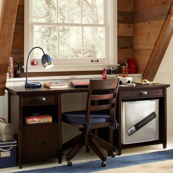 inspirational contemporary study space