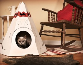 nice cat house designs