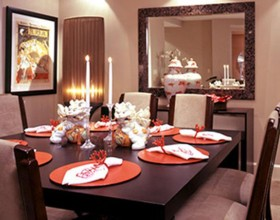 nice dining room furnishing