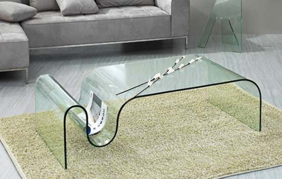 simple glass coffee table ideas