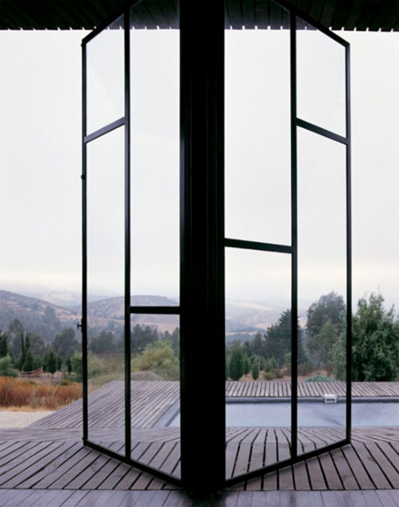 slide style glass window system