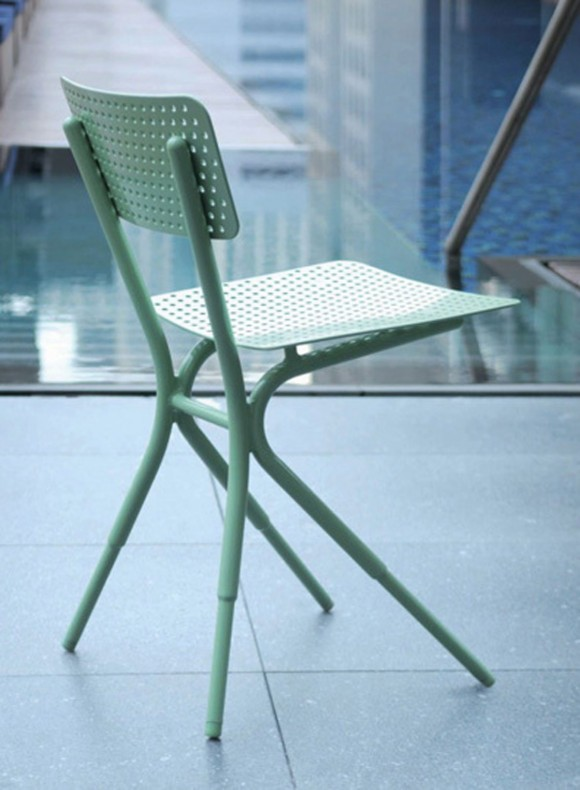 slim and thin chair designs