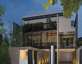 slim modern house designs