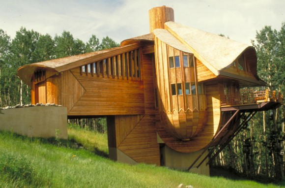 wooden architectural building inspirations