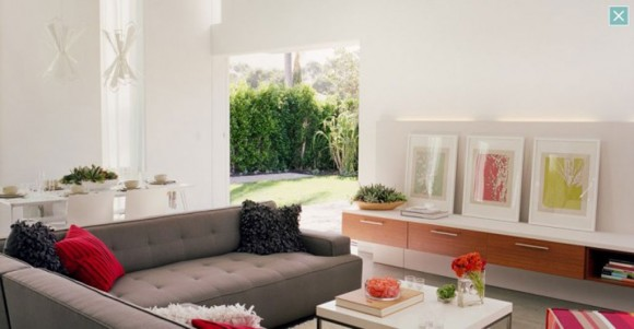 airy white living room designs