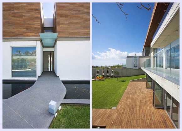clean and clear exterior residence