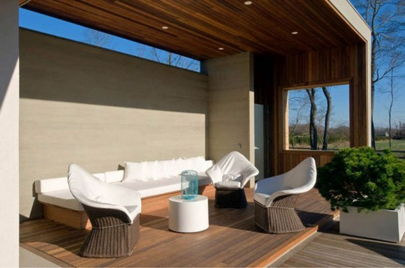 friendly outdoor living room