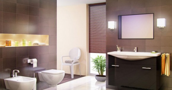 modern bathroom decorations ideas