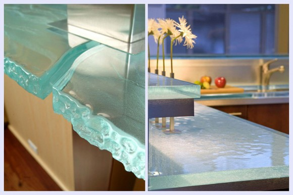 oceanic glass countertop fixtures