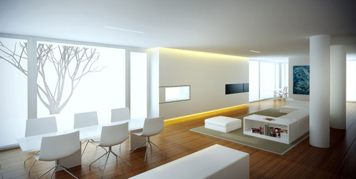 Space saving realistic home interior ideas for Space saving interior design ideas